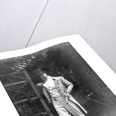 Photograph of a Speculator in the East by English School