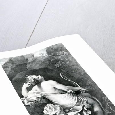 Diane Endormie by Correggio