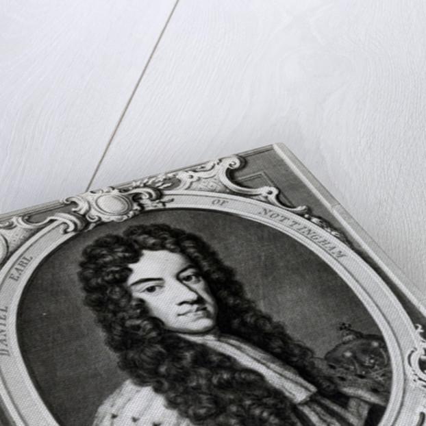 Daniel Finch, 2nd Earl of Nottingham and 7th Earl of Winchilsea by Jacobus Houbraken