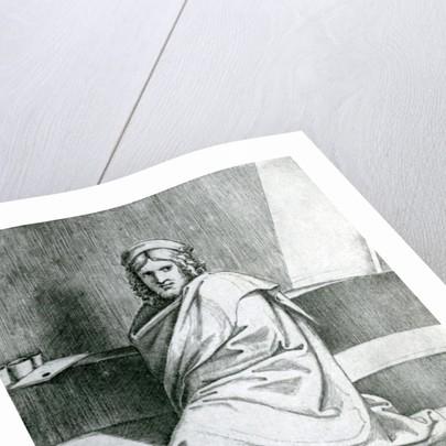 Raphael in a Cloak by Marcantonio Raimondi