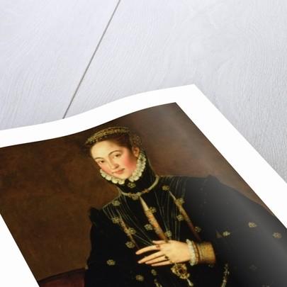 Marquesa of Las Navas by Sir Anthonis van Dashorst Mor