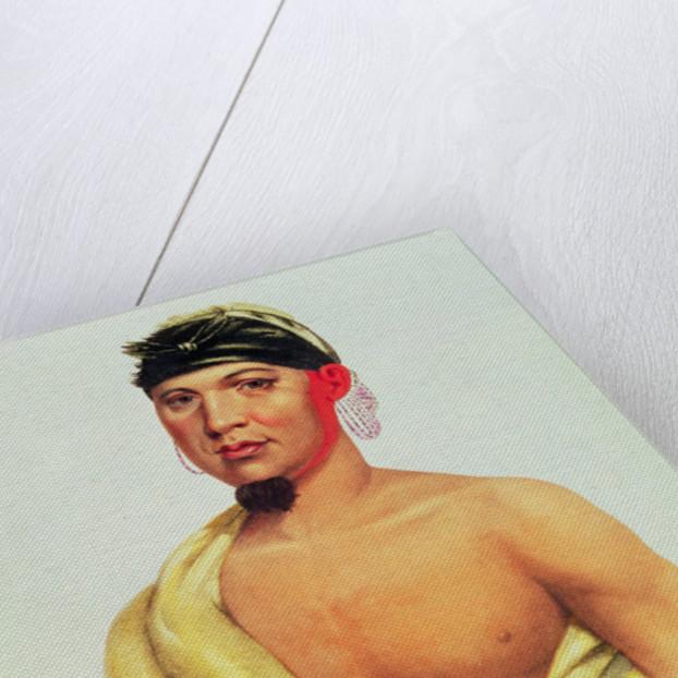 Peah-Mus-Ka, a Musquakee Chief by American School