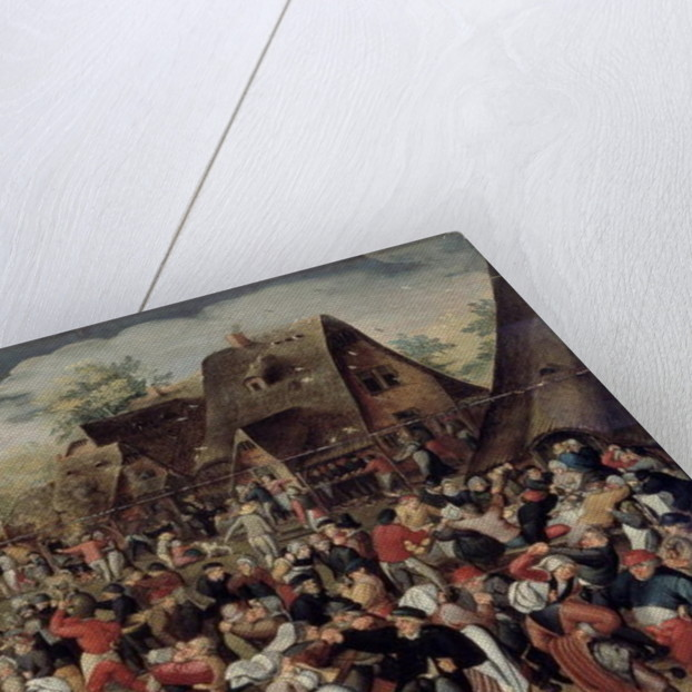 The Village Festival by Pieter the Younger Brueghel