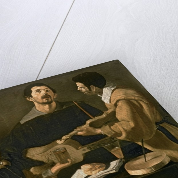 Three Musicians by Diego Rodriguez de Silva y Velazquez
