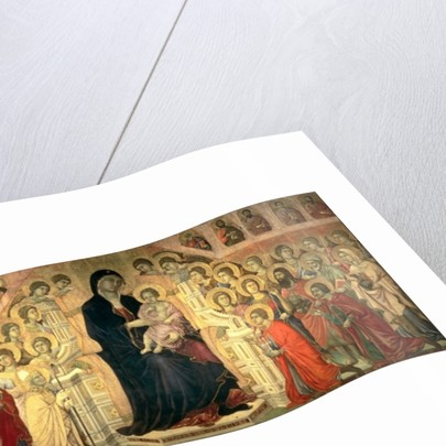The Maesta by Duccio di Buoninsegna