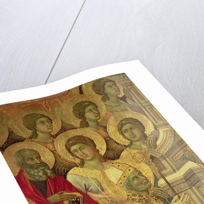 Maesta: Saints by Duccio di Buoninsegna
