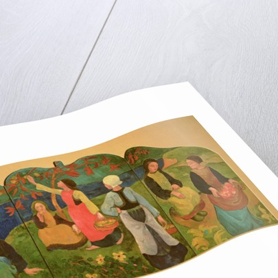 The Pont Aven Triptych by Paul Serusier