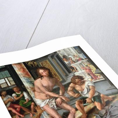 The Flagellation by Pieter Coecke van Aelst