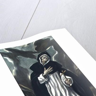 St.Dominic of Guzman by El Greco