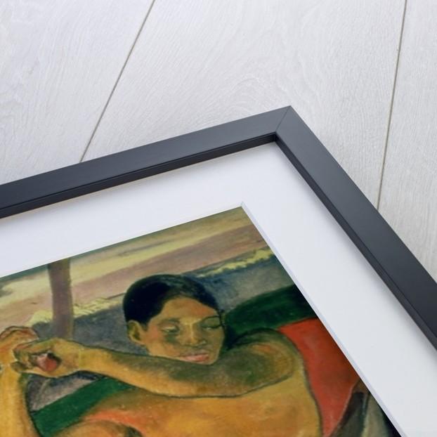 The Man with an Axe by Paul Gauguin