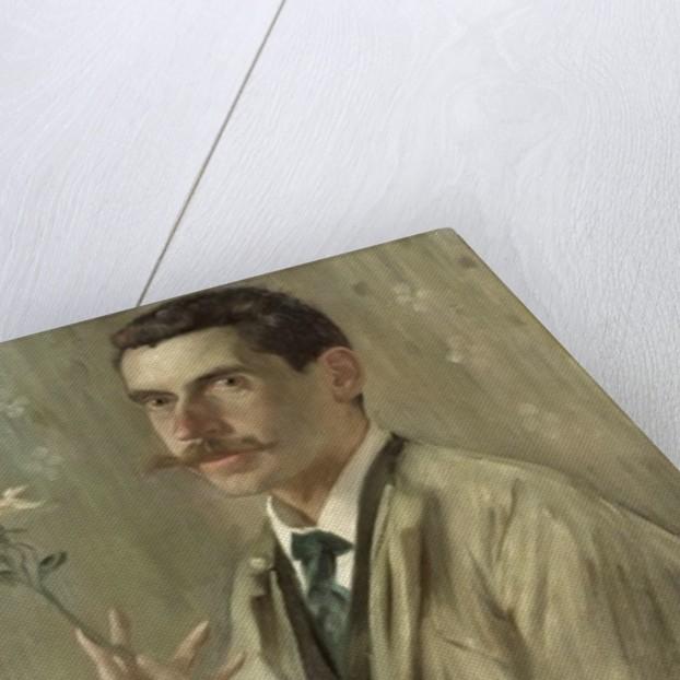 The Painter Otto Eckmann by Lovis Corinth