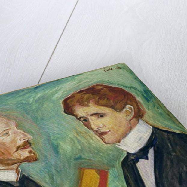 Albert Kollmann and Sten Drevsen, 1901 by Edvard Munch