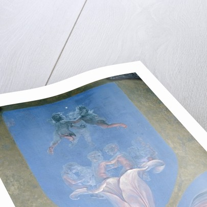 A section from the second version of 'The Morning' by Philipp Otto Runge
