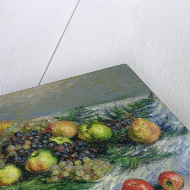 Still Life with Pears and Grapes by Claude Monet