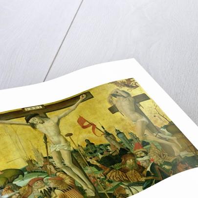 The Crucifixion by Master of Hamburg