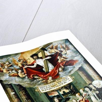 Panel from the tomb of Sebastian Welling, Stuttgart burgermeister, 1535 by Martin Schaffner