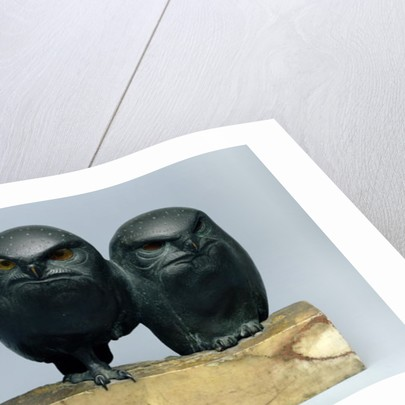 Two Owls by August Gaul