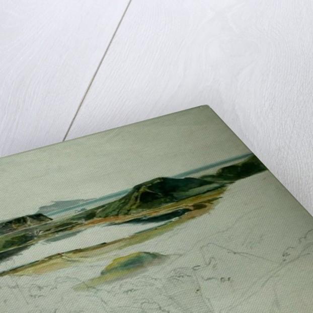 Lake Agnano by Ernst Fries