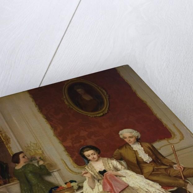 Jealousy by Petrus Renier Hubertus Knarren