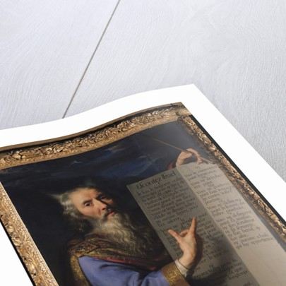 Moses with the Tablets of the Law by Philippe de Champaigne
