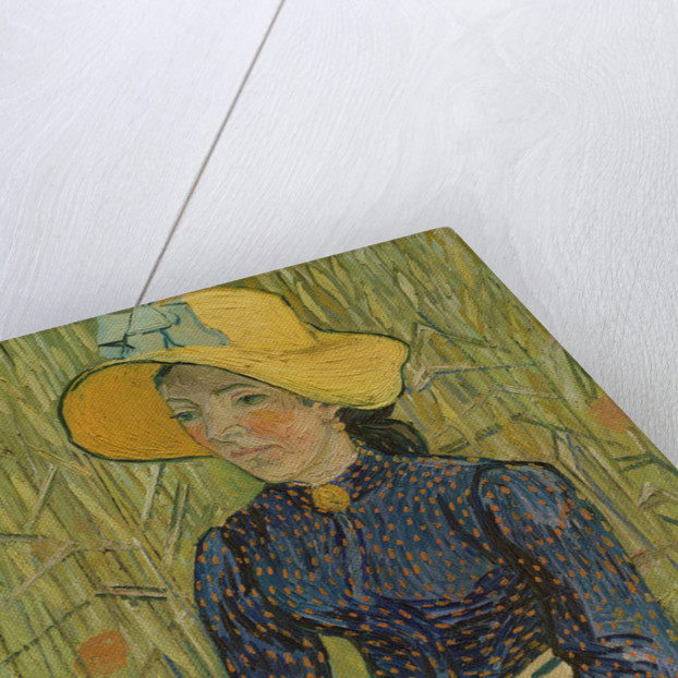 Peasant Girl in Straw Hat by Vincent van Gogh