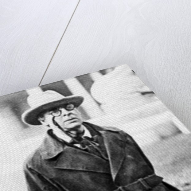 W.B. Yeats by English Photographer