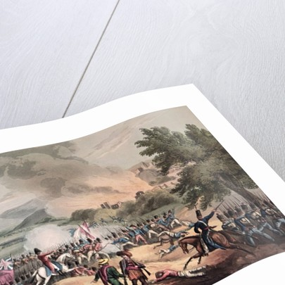 Battle of Pombal, 12th March 1811, engraved by Thomas Sutherland by William Heath