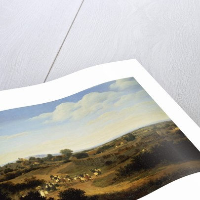 Panoramic View in Brazil by Frans Jansz Post
