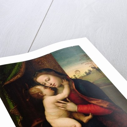 Madonna and Child, by Mariotto Albertinelli