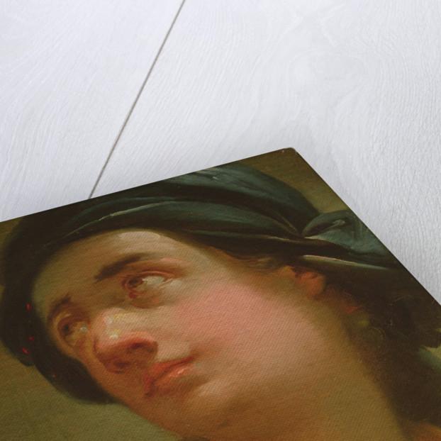 Study of the head of a youth by Ubaldo Gandolfi