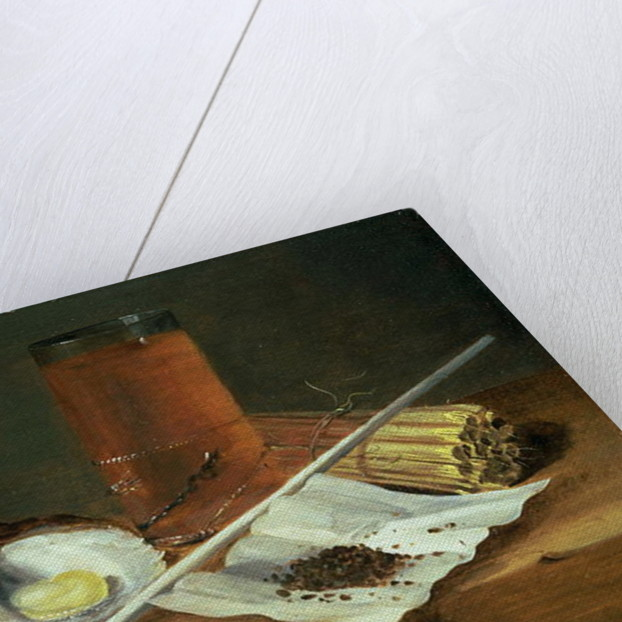 Still life with Smoking Requisites by Casparus Smits