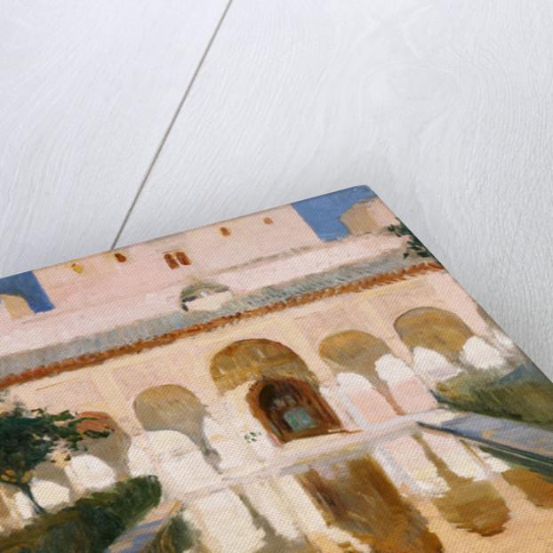 Hall of the Embassadors, Alhambra, Granada by Joaquin Sorolla y Bastida