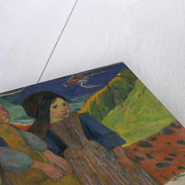 Little Breton Girls by the Sea by Paul Gauguin