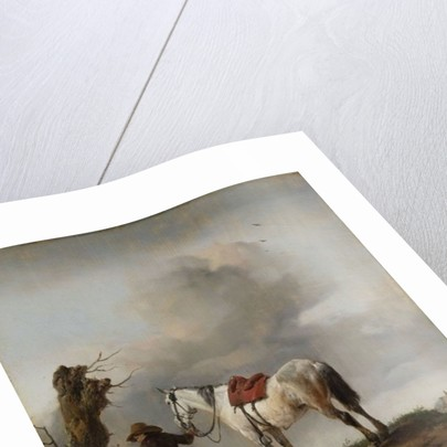 The Grey Horse by Philips Wouwermans or Wouwerman