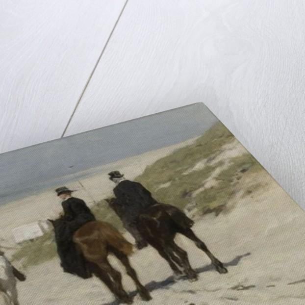 Morning Ride along the Beach by Anton Mauve