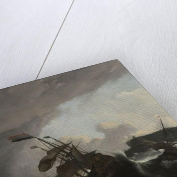 The Battle of Terheide by Ludolf Backhuysen