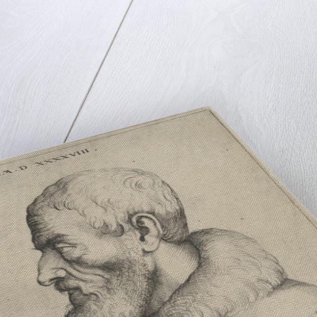 Self-Portrait by Augustin Hirschvogel