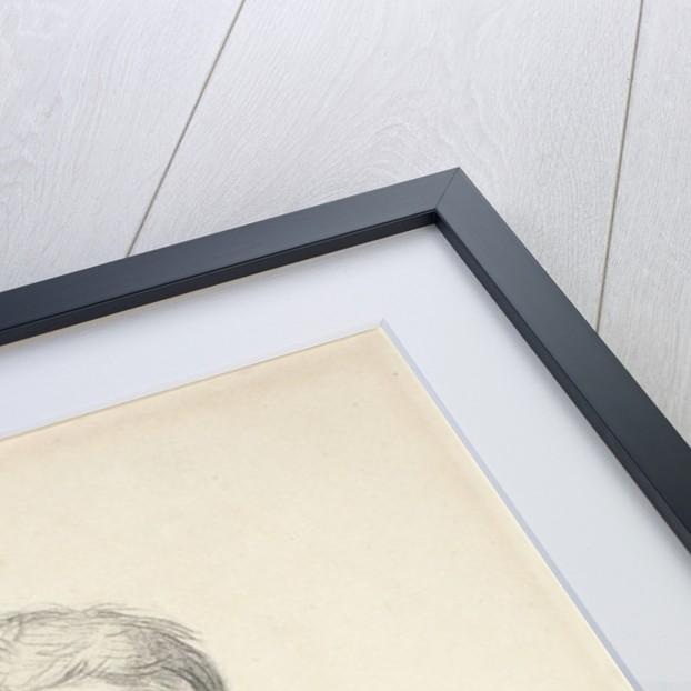 Self-Portrait by Jean Auguste Dominique Ingres