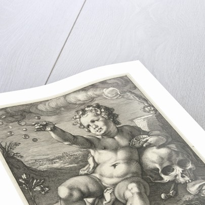 Homo Bulla by Hendrik Goltzius