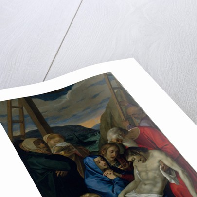 Pieta, 1593 by Scipione Pulzone