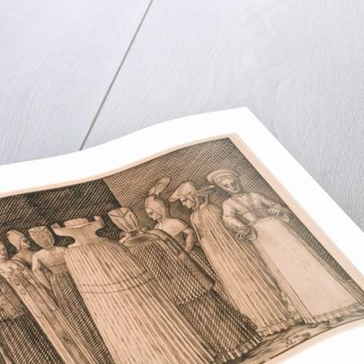 Ten Women of Stralsund by Melchior Lorck