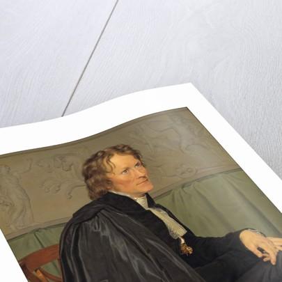 Bertel Thorvaldsen by Christoffer-Wilhelm Eckersberg