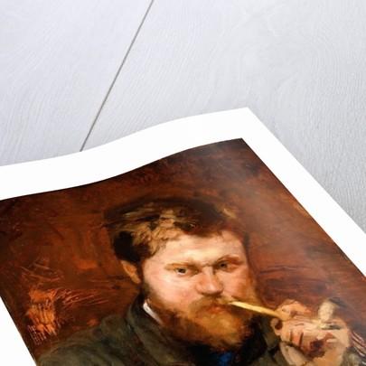 Man Smoking a Pipe by Jean Alexandre Joseph Falguiere