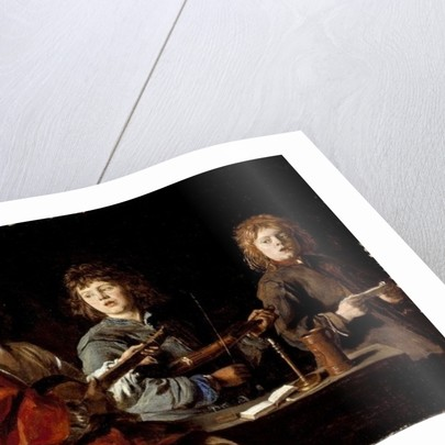 Three Young Musicians by Antoine Le Nain