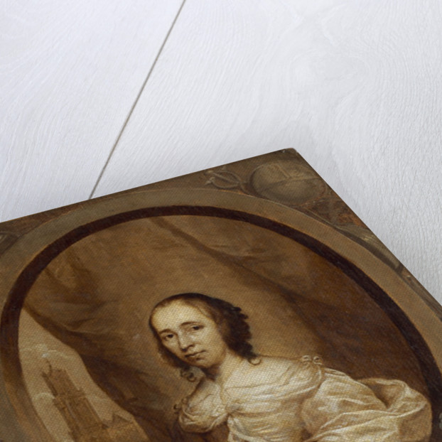 Anna Maria van Schurman by Cornelius Janssen van Ceulen