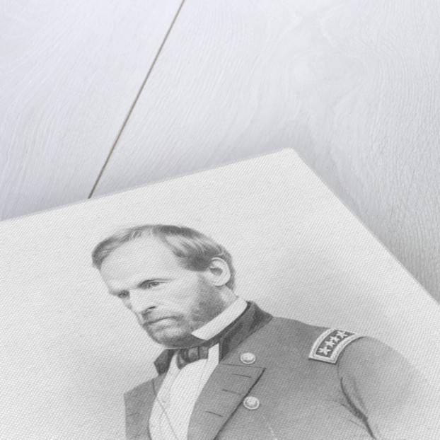 General William T. Sherman by John Chester Buttre