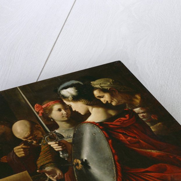 Achilles among the Daughters of Lycomedes by Pietro Paolini