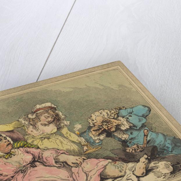 A Bawd on Her Last Legs by Thomas Rowlandson