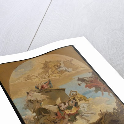 The Miracle of the Holy House of Loreto by Giovanni Battista Tiepolo