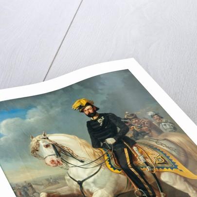Karl XV, King of Sweden and Norway by Carl Fredrik Kioerboe